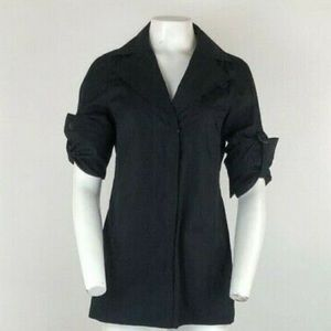 Akris Punto Snap Button Blouse
